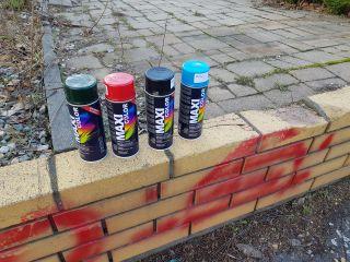 Graffiti na gorącym uczynku