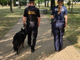 Wakacyjne działania strażników miejskich