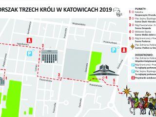 Orszak Trzech Króli przejdzie ulicami Katowic. 6 stycznia mogą być utrudnienia na drogach.