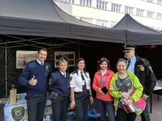 Strażnicy miejscy na V Dniach Energii Miasta Katowice