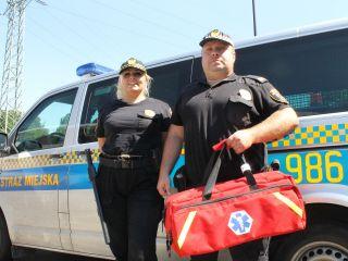Strażnicy miejscy uratowali chorego na cukrzycę