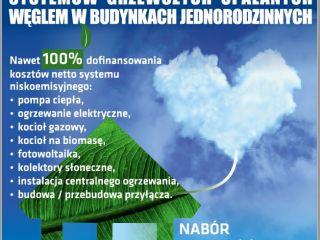 Dopłaty do wymian źródeł ciepła w domach jednorodzinnych w Katowicach