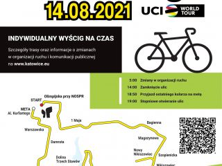 14 sierpnia w Katowicach odbędzie się 78. edycja Tour de Pologne